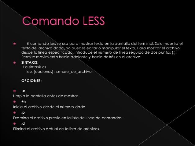 comando-less