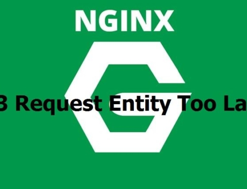 Solución a 413 Request Entity Too Large Nginx