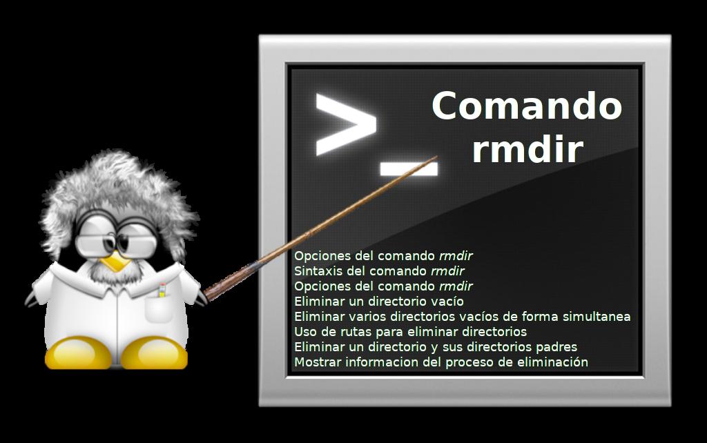 Comando-rmdir