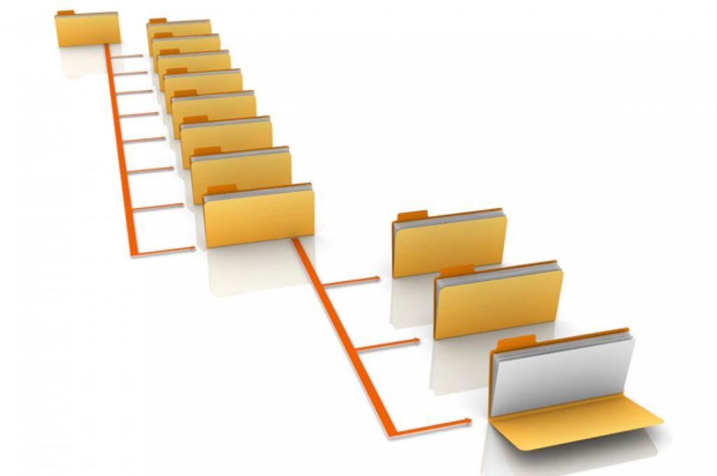 crear directorios linux
