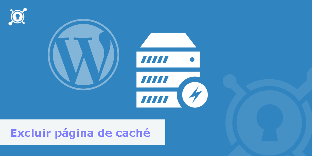 excluir pagina de cache wordpress